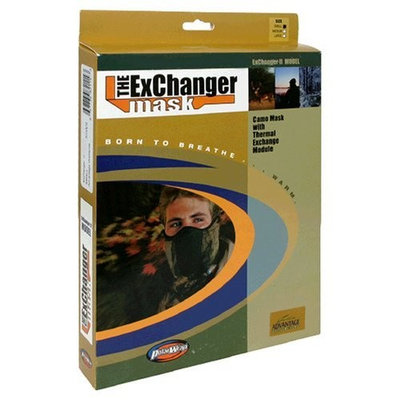 Polarwrap The Exchanger Mask, Exchanger II Model, Advantage Wetlands, Small, 1 Mask
