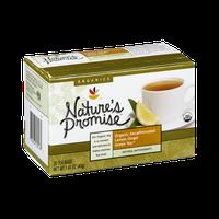 Nature's Promise Organics Organic Decaffeinated Lemon Ginger Green Tea Bags - 20 CT