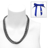 Brandy Pham Bella Long Double Chain Necklace