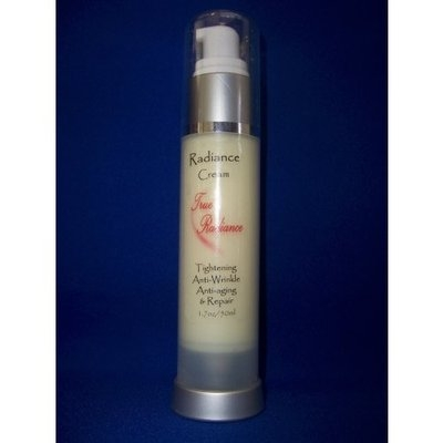 True Radiance RADIANCE CREAM Skin tightener, Face firming, Anti-wrinkle & Anti-aging Cream with 20% Argireline. Also has Hyaluronic Acid, DMAE, Alpha Lipoic Acid and Much More!! PARABEN FREE New airless 1 oz/30ml bottle.