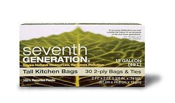 Seventh Generation Tall Kitchen Trash Bags