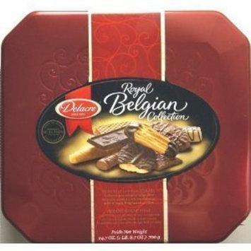 Delacre Prestige Elegant Gourmet Belgian Cookie and Biscuit Assortment 45.9 O...