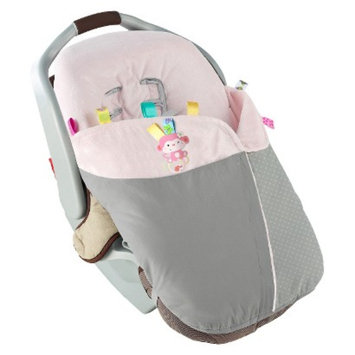 Snuggle & Stroll Carrier Blanket - Pink by Taggies