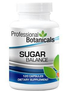 Professional Botanicals Sugar Balance 120 caps