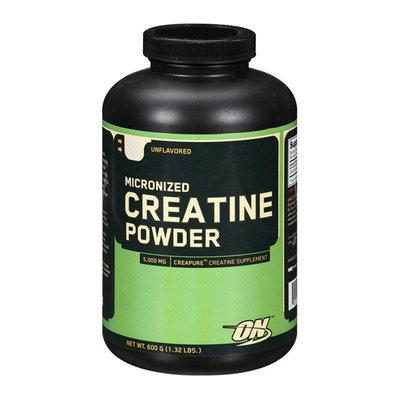 OPTIMUM NUTRITION ON Micronized Creatine Unflavored Powder Supplement 5000mg