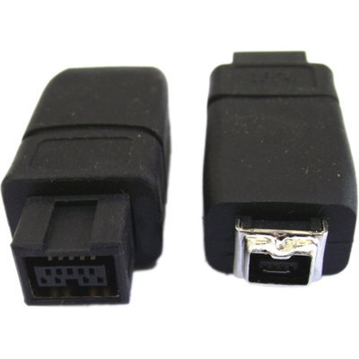 Professional Cable FireWire 900 to 400 Adapter, 9-Pin Male to 4-Pin Female