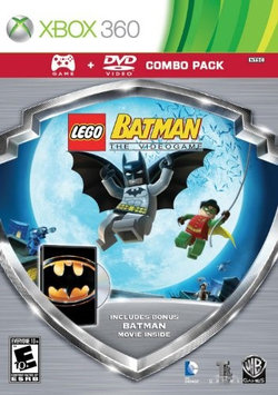 Eidos Lego Batman Game/batman Movie Dvd Combo Pack
