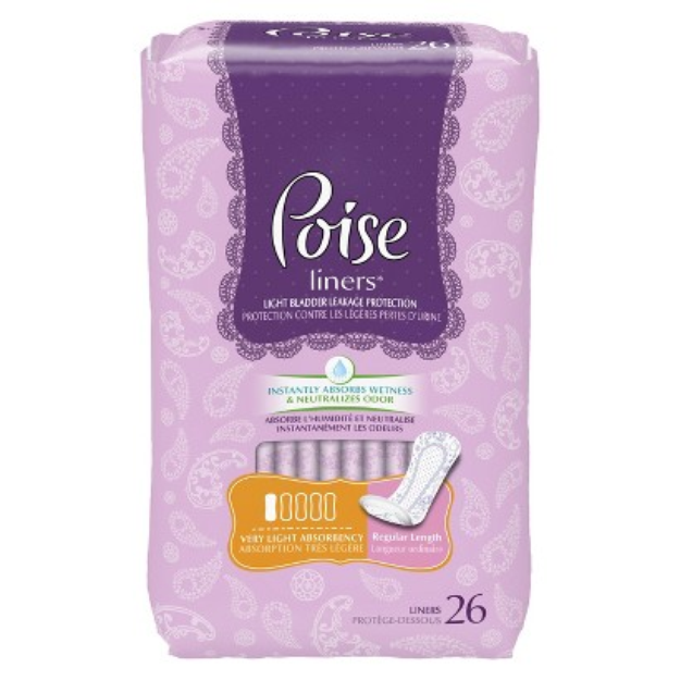 Poise Liners - Regular Length (208 Count)