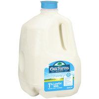 Oak Farms 1% Low Fat Milk, 1 gal