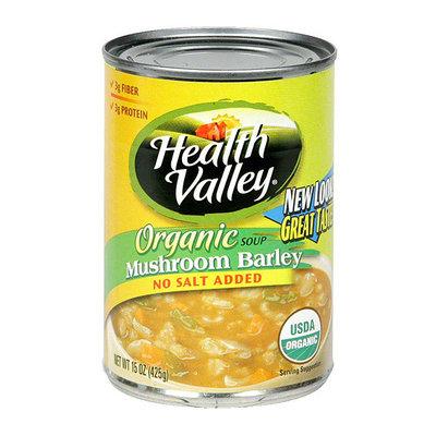 Health Valley Mushroom Barley Soup