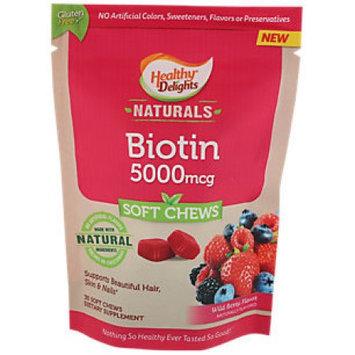 Healthy Delights Naturals Biotin