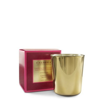 Caldrea Company Caldrea Crimson Candle, Pear Ginger, 8.1 Ounce
