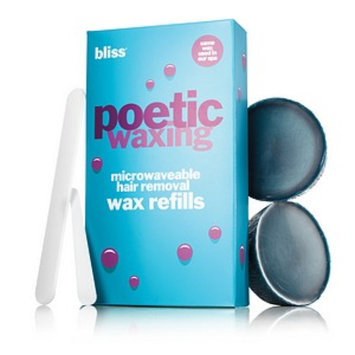 Bliss poetic waxing - microwaveable wax refills  5.3 Oz