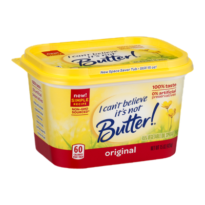 I Can't Believe It's Not Butter! Original 45% Vegetable Oil Spread