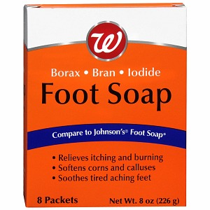 Walgreens Foot Soap 8 Pack