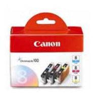 Canon CLI-8 Tri-Colour Value Pack