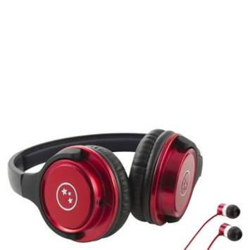 Able Planet Travelers' Choice Stereo Headphones - Red