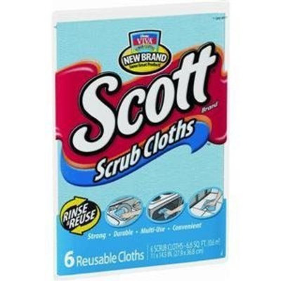 Kimberly-Clark Corp. 16901 Scott Scrub Cloths (Pack of 24)