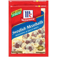 McCormick Swedish Meatballs Seasoning & Sauce Mixes 2.11-oz.