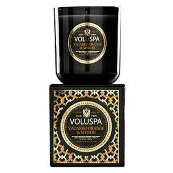 Voluspa Boxed Candle, Vacarro Orange & Myrhh, 12 oz