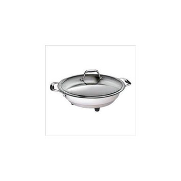 Cucina Pro 1453 Classic Electric Skillet - 12 - Polished Interior