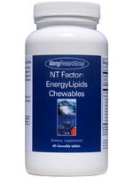 Allergy Research Group, NT Factor EnergyLipids Chew 60 tabs