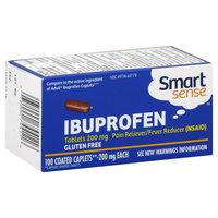 Kmart Corporation Smart Sense Ibuprofen, 200 mg, Caplets, 100 caplets