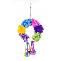 Prevue Hendryx Prevue Pet Products BPV62668 Calypso Creations Bird Toy, Colorful Clusters