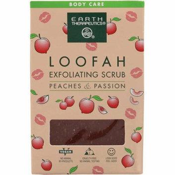 Earth Therapeutics Loofah Exfoliating Bar Soap Peaches and Passion 4.2 oz