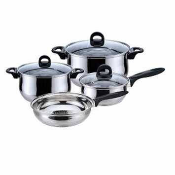 Magefesa Bohemia-Priminute Stainless Steel Cookware Set, 7 Pc, 1 ea