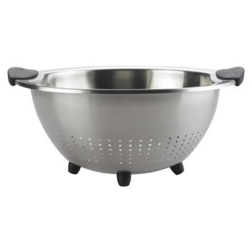 OXO 5 Quart Stainless Steel Colander - Silver