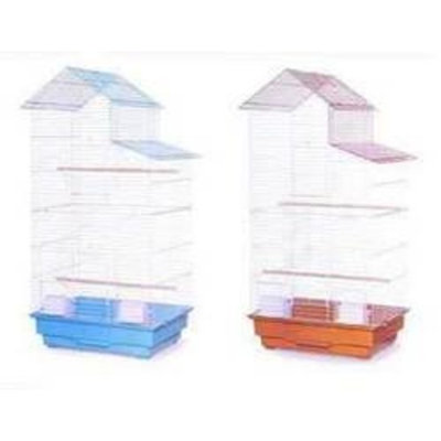 Mojetto Prevue Pet Products Keet Tiel Cage Tall House Style Roof 18X14X39
