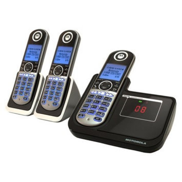 Motorola DECT 6.0 Cordless Phone System (MOTO-P1003) with Answering
