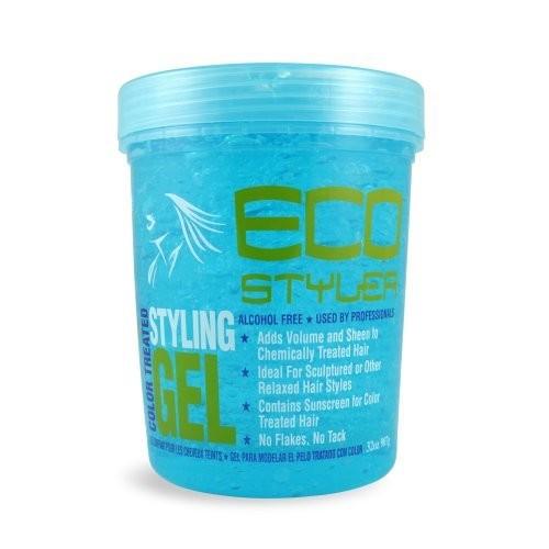 Eco Styler ECOCO Eco Style Gel, Blue, 32 Ounce