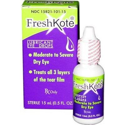 FreshKote Lubricant Eye Drops 15ml (Pack of 2)