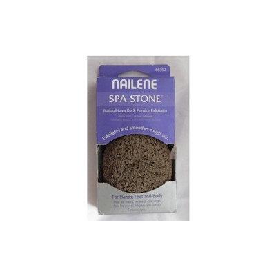 Nailene Spa Stone Natural Lava Rock Pumice Skin Exfoliator - Hands, Feet, Body