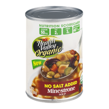 Health Valley Organic Soup Minestrone No Salt Added