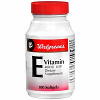 Walgreens Gold Seal Vitamin E 400 IU Dietary Supplement Softgels
