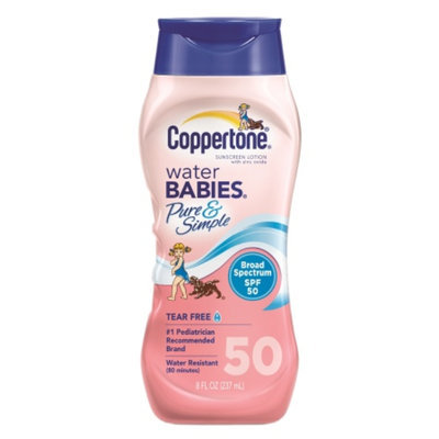 Coppertone Water Babies Water Babies Pure & Simple Sunscreen Lotion SPF 50
