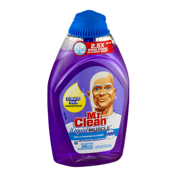 Mr. Clean Liquid Muscle Multi-Purpose Cleaner Dawn