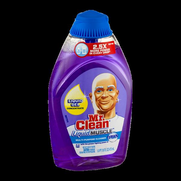 Mr. Clean Liquid Muscle Multi-Purpose Cleaner Dawn