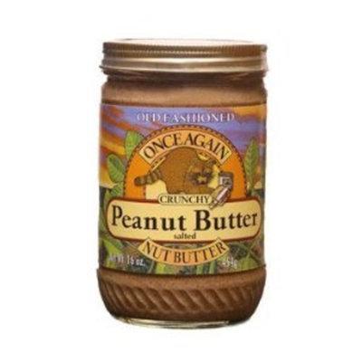 Once Again Peanut Butter, Crnch, Salt, 16 oz (pack of 12 ) ( Value Bulk Multi-pack)
