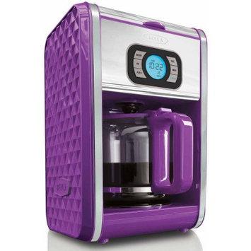 Sensio Bella 13926 Diamonds 12-Cup Programmable Coffee Maker - Purple