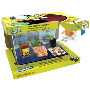 Spongebob Squarepants Penn-Plax 3-D Vacation Adventure Aquarium Kit