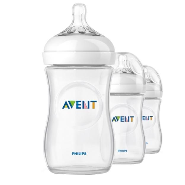 Avent Natural 9oz Bottles (PP) 3 ea