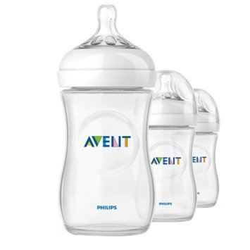 Avent Natural 9oz Bottles (PP) 3 ea