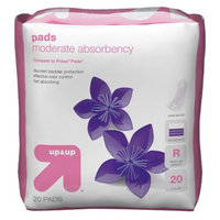 up & up up&up Pads Moderate Absorbency Regular Length - 20 Count
