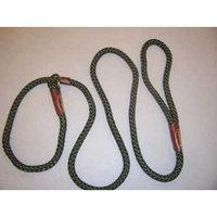 Coastal Pet Remington Rope Slip Leash in Green, 6' L X .25