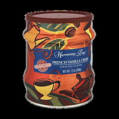 Harmony Bay French Vanilla Creme Ground Coffee