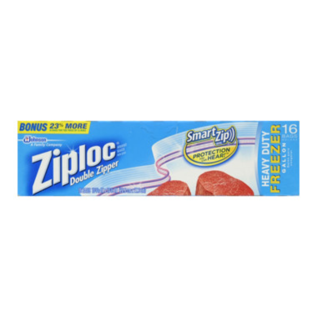 Ziploc Heavy Duty Freezer Bags - Gallon, 13 bags